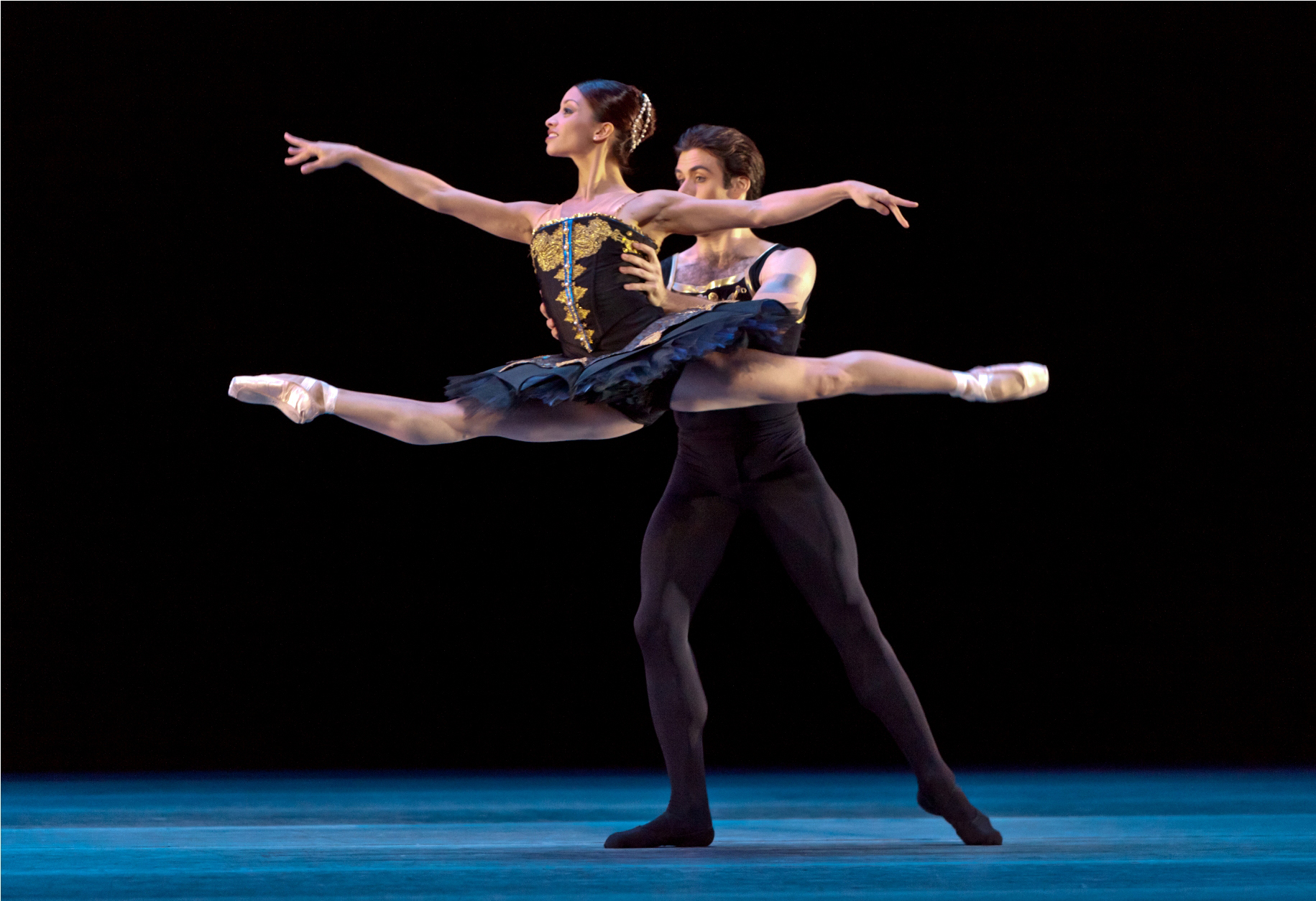 Houston Ballet, operated by Houston Ballet Foundation, is the fourth-largest professional ballet company in the United States, based in Houston, Texas. The foundation also maintains a ballet academy, the Houston Ballet Academy, which trains more than half of the company's dancers. [2].