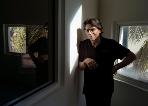 Edward Villella, the artistic director of Miami City Ballet, at the company studios. Maggie Steber for The New York Times