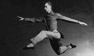Cunningham performing in 1948 Photo by Philippe Halsman - Magnum