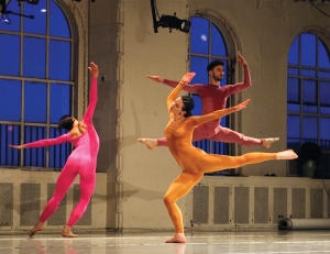 Dancers are David Rafael Botana, Cori Kresge, and Stacy Martorana.Image by www.photographme.us