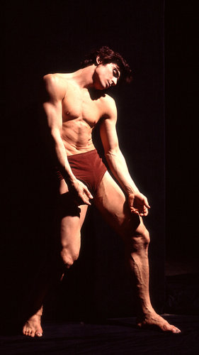 "Edward Villella in the Balanchine ballet ""The Prodigal Son"" in New York in 1969. Bill Eppridge/TimePix"