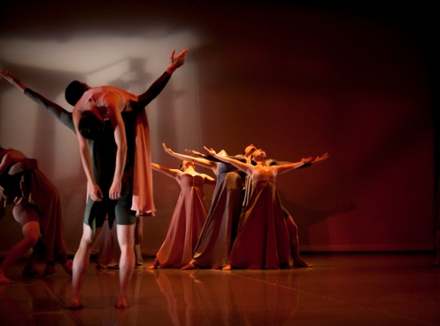 """Odes"" Sokolow Theatre/Dance Ensemble photo by Meems"