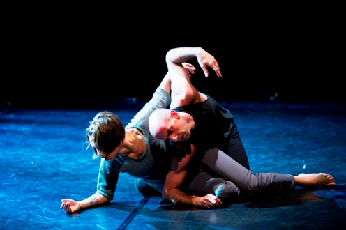 """Crisis Variations"" Katarzyna Skarpetowska and Brian McGinnis Photo by Paula Lobo"