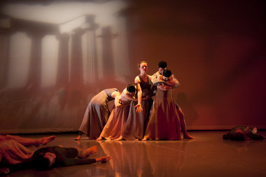 "The Sokolow Theatre/Dance Ensemble in ""Odes"""