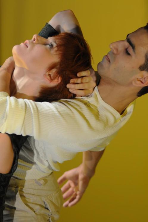 Marie Zvosec&  John Eirich Choreography by Take Ueyama Photo by Kokyat