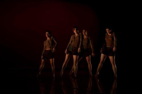 Lynda Senisi, Marie Zvosec, Sarah Mettin &  Kristi Tornga Choreography by Kile Hotchkiss Photo by Sinru Ku