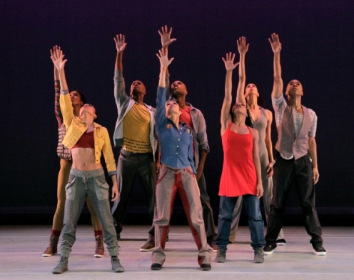 Alvin Ailey American Dance Theater in Rennie Harris' Home. Photo by Paul Kolnik