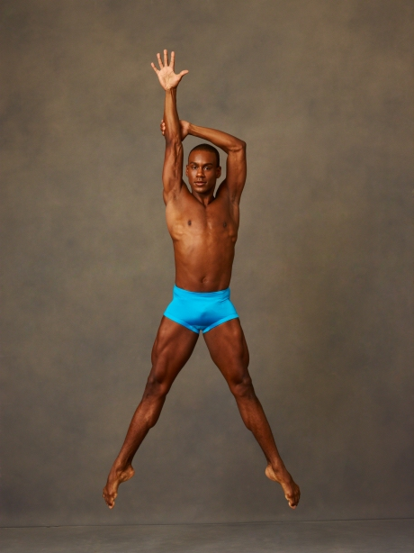 Alvin Ailey American Dance Theater's Kirven James Boyd. Photo by Andrew Eccles