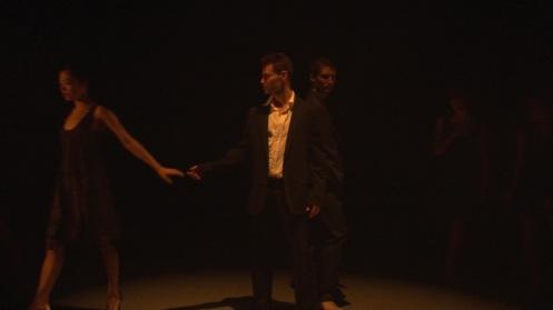 Nikki Holck, Attila Csiki and Andrew Trego Peridance Contemporary Dance Company