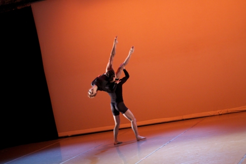 "Duet from ""Station"" with Morgan Hurst & Ben Freedman Photo by Samantha Siegel"