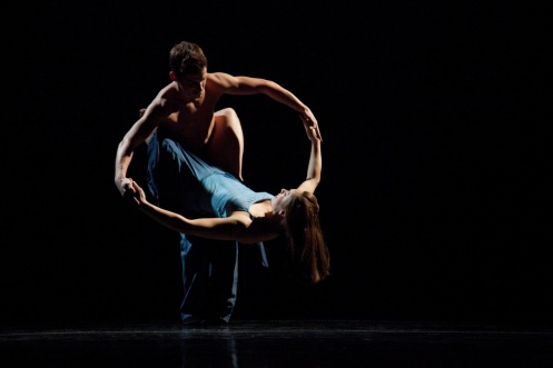ROUND MY WORLD Dancers: Ian Spring & Melissa Ullom Photo by Krista Bonura
