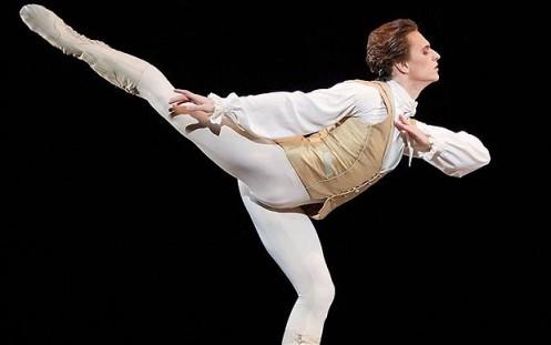 Ukrainian dancer Sergei Polunin  Photo AP