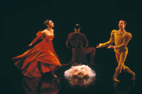 "Jose Limón's ""The Moor's Pavane"" with Limón Dance Company's Carla Maxwell as the Friend's Wife"