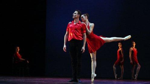 – Tom Gold Dancers Stephen Hanna & Amanda Hankes. Photo courtesy of Dan Dutcher Public Relations