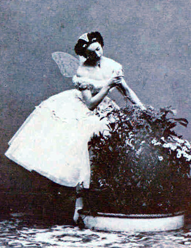 Emma Livery in Le Papillon, Paris, 1861 Photographer Unkown