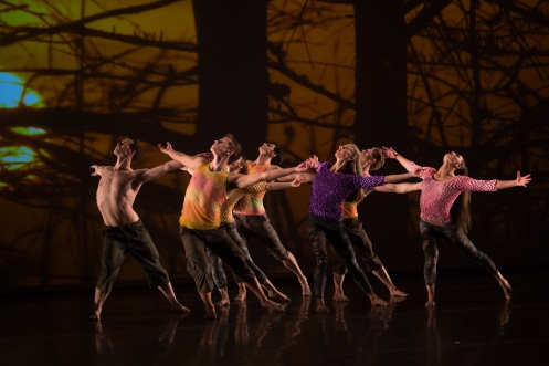 "Parsons Dance in ""Dawn to Dusk"" Phot by Eric Bandiero"