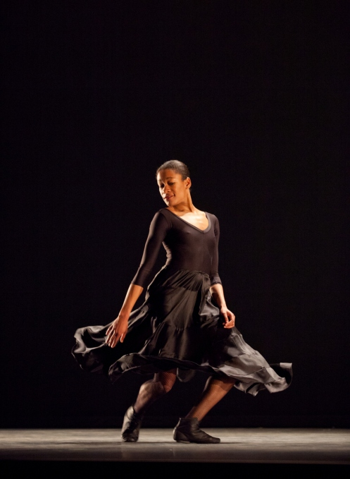 "Kristen Foote in ""Come With Me."" photo by Rosalie O'Connor"