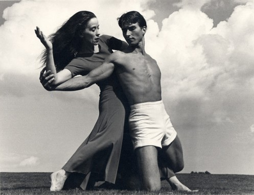 Martha Graham & Eric Hawkins circa 1948