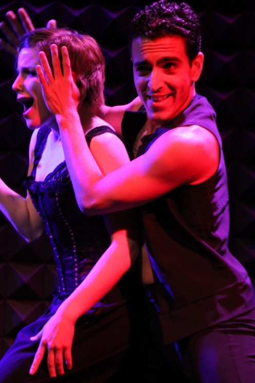 Marie Zvosec & John Eirich in Somewhere Familiar Melodies: Take Dance at Joe's Pub. Photo: Phyllis McCabe