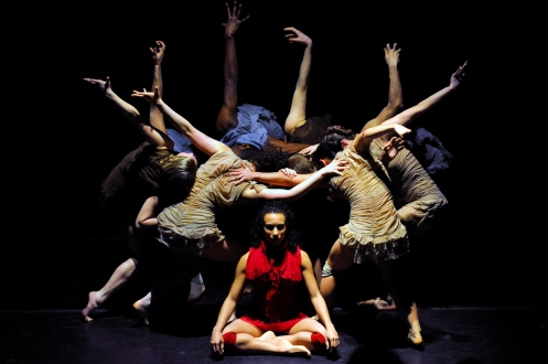 Steps Repertory Ensemble's in Manuel Vignoulle's Le Moi Sauvage. Photo: Eduardo Patino, NYC