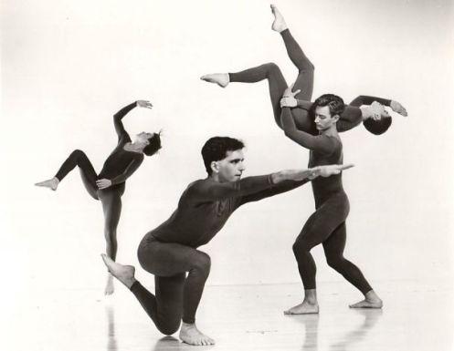 Company members of Trisha Brown Dance Company perform Newark Photo: Jack Mitchell