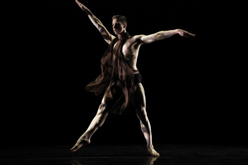 "Stephen Petronio Company's Joshua Green ""Like Lazarus Did (LLD 4/30)""  Photo by Julieta Cervantes"