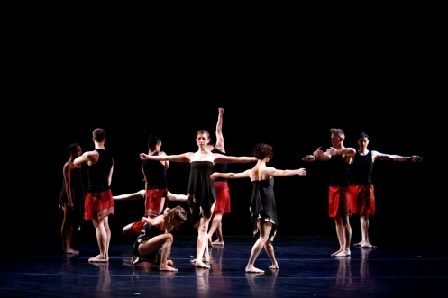 "Stephen Petronio Company in Like Lazarus Did (LLD 4/30)""  Photo by Julieta Cervantes"