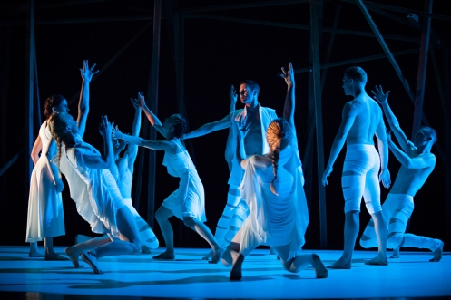 "Rioult Dance New York in Pascal Rioult's ""Iphigenia"".  Photo by Sofia Negron"