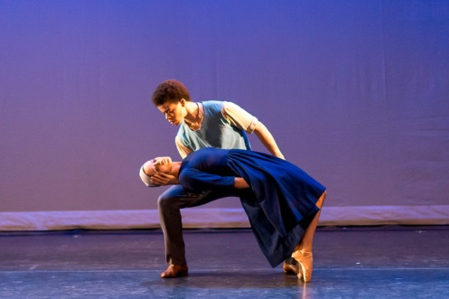 New York Theater Ballet's Amanda Lynch & Steven Melendez in Antony Tudor's Dark Elegies. Photo by Darial Sneed