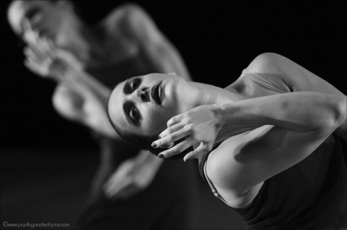 Graham II Dancer Denise Steiner in Martha Graham's Cortege of Eagles. Photo by Paul b. Goode