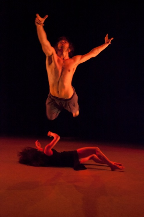 Ida Saki & Guillaume Queau in Lauren Adam's Manifeste. Photo by K. Bonura Photography.