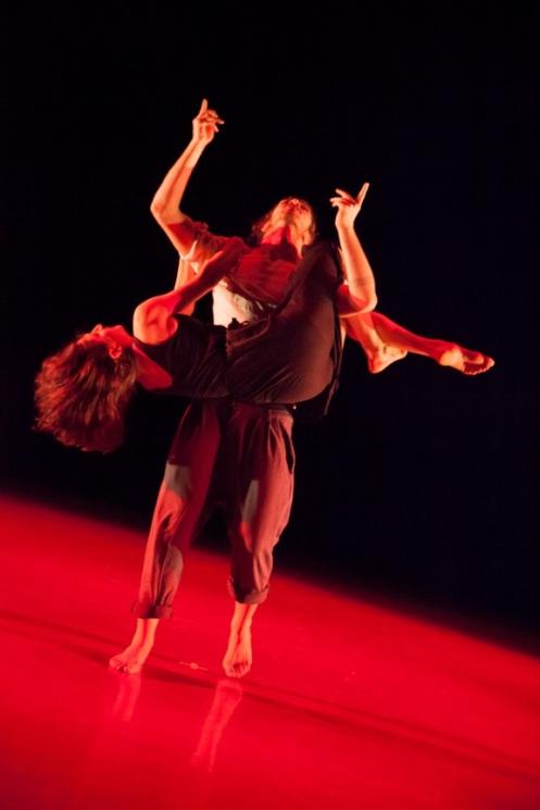 Manuel Vignoulle & Isaies Santamaria Perez in Manuel Vignoulle's Shifting Shadow. Photo by K. Bonura Photography