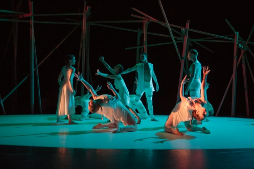 "Rioult Dance New York in Pascal Rioult's ""Iphigenia"". Photo by Eric Bandiero"