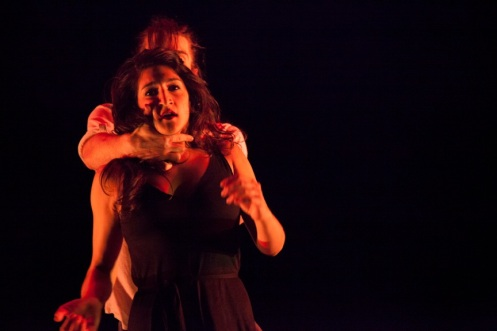 Ida Saki & Guillaume Queau in Lauren Adam's Manifeste. Photo by K. Bonura Photography.