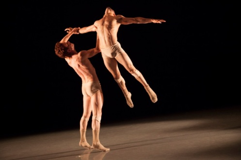 Manuel Vignoulle & Isaies Santamaria Perez in Manuel Vignoulle's Shifting Shadow. Photo by K. Bonura Photography