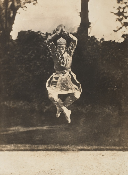 Eugène Druet, French, 1868–1917, Vaslav Nijinsky in Siamese Dance from The Orientals, 1910, gelatin silver print, Lent by The Metropolitan Museum of Art, Gilman Collection, Gift of The Howard Gilman Foundation, 2005