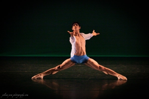 Yubal Eduardo Morales Rubio (Mexico) in Viktor Kabaniaev's Notturno. Photo by Yelena Yeva