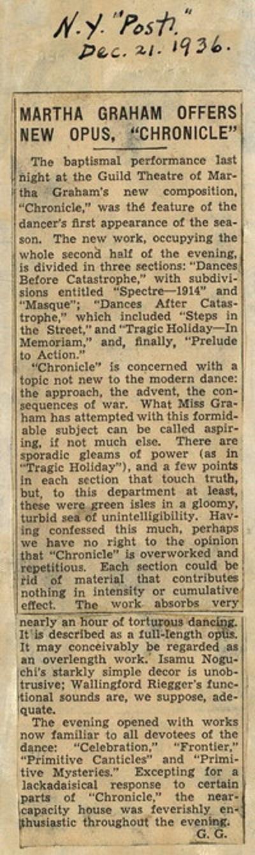 1936 ballet premieres shops for Antony tudor jardin aux lilas