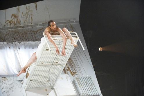 Edward Watson as Gregor Samsa in The Metamorphosis Photo by ©Tristram Kenton
