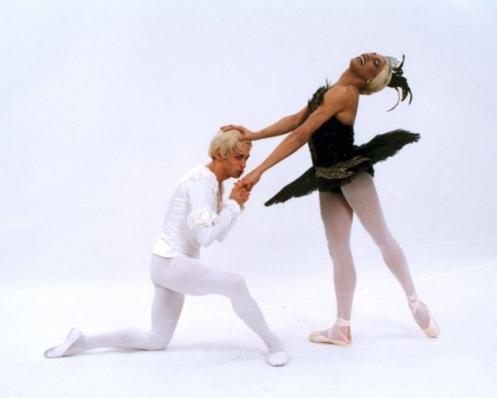 Les Ballets Trockadero de Monte Carlo in Marius Petipa's Black Swan Pas De Deux