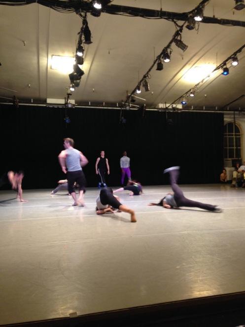 "Martha Graham Dance Company in rehearsal for Andonis Foniadakis' ""Echo"" | NEW@Graham. Photo by Suzanne Flanagan"