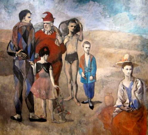 "Picasso's ""Family of Saltimbanques"""