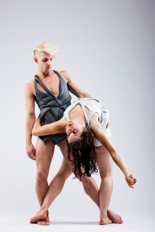 Daisy Phillips &  James O'Hara in Sidi Larbi Cherkaoui's Faun