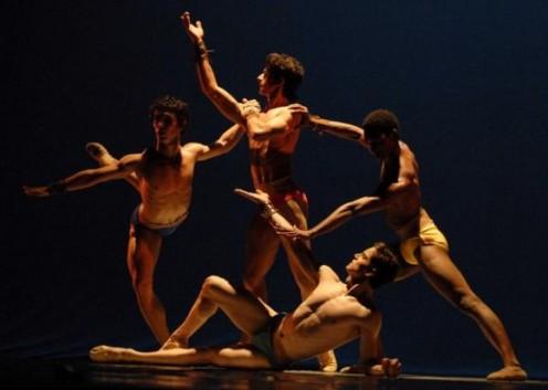 Presentación de «Canto vital» en el Gran Teatro de La Habana, el 7 de noviembre de 2010, durante la Gala de clausura del 22 Festival Internacional de Ballet..AIN FOTO/Roberto MOREJON RODRIGUEZ