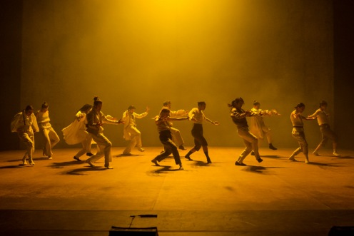 "Hofesh Shechter Company in Hofesh Shechter's ""Sun"" during BAM's 2013 Next Wave Festival  Photo: Ian Douglas"