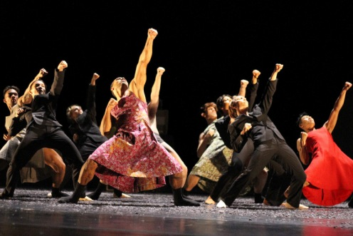 "Cedar Lake Contemporary Ballet in Johan Inger's ""Rain Dogs""; Photo by Ally Duffey. Courtesy of Cedar Lake, Inc."