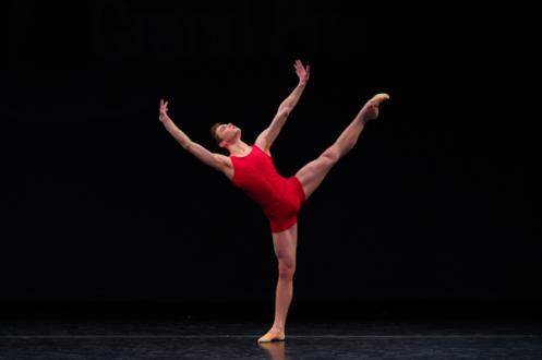 American Dancer David Donnelly joins the Royal Ballet in 2013.