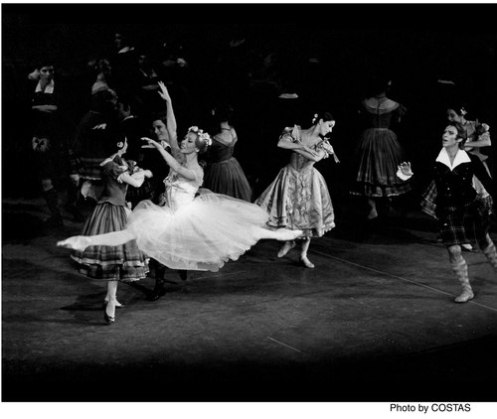 "Natalia Makarova and Ivan Nagy, in American Ballet Theater's ""La Sylphide"" Makarova has frequently coached and staged classics."