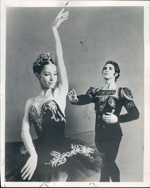 Natalia Makarova & Ivan Nagy in 'Swan Lake' 1971