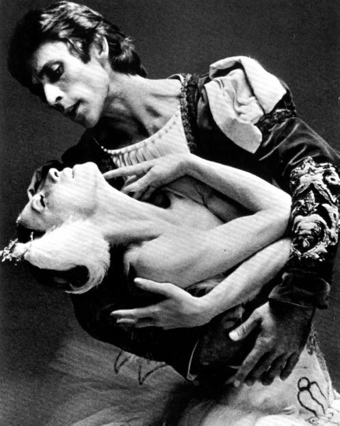 Natalia Makarova & Ivan Nagy by Max Waldman